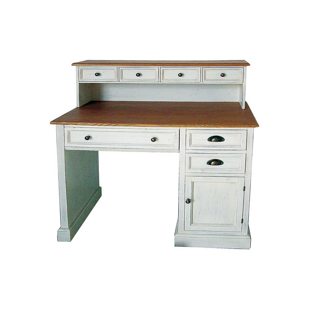 Schreibtisch Weiß Mit Aufsatz 2021