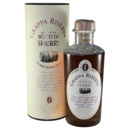 Sibona Grappa Riserva Sherry Wood 0,5 Liter - 1