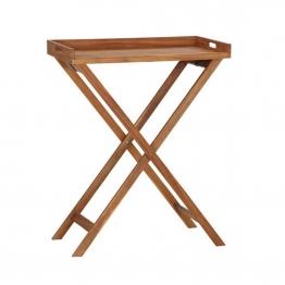 Siena Garden Minera Tabletttisch 80x45x99,5cm Akazienholz