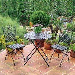 Sitzgruppe Marrakesch (2 Stühle + Tisch)