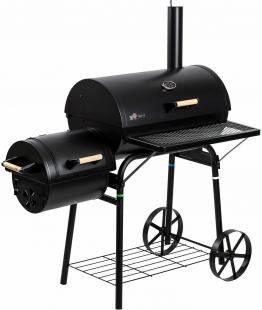 Smoker-Holzkohlegrill »Dakota« schwarz, El Fuego