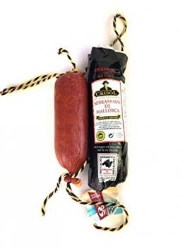 Sobrasada aus Mallorca | vom schwarzen mallorquinischen Schwein | traditionelle Herstellung | Sobrassada Paprika Streichwurst - ähnlich Chorizo - 1