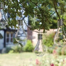 Solar-Glühbirne Edison, 6er-Set