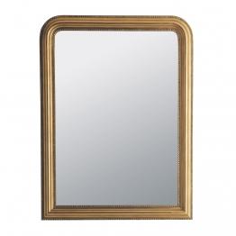 Spiegel aus goldfarbenem Paulownienholz 90x120