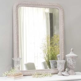 Spiegel beige aus Holz H 121 cm AGLAE