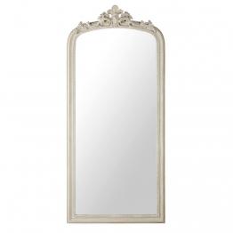 Spiegel mit grauem Zierrahmen 75x181