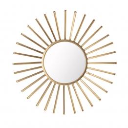 Spiegel Modi gold 90cm, 90×7×90cm