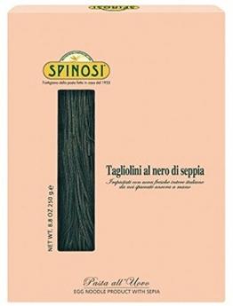 SPINOSI - Tagliolini al nero di Seppia - Pasta - Eierbandnudeln - 1