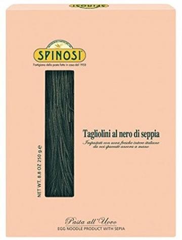 SPINOSI ; Tagliolini al nero di Seppia Pasta Eierbandnudeln