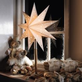 Stern Solvalla als Tischleuchter 45 x 64 cm