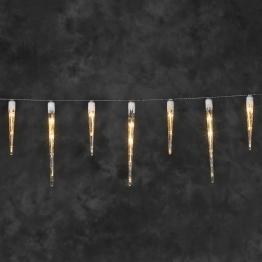 Stimmungsvolle LED-Lichterkette Eiszapfen