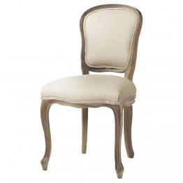 Stuhl aus Leinenfarbenen Leinen Versailles