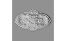 "Styropor Deckenrosette ""RO-1"" | Ø52x37cm"