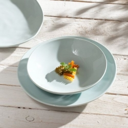 Suppenteller C&T Pastellove blue, 22,5cm