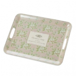 Tablett Choulette Fleur 40,5x31,5cm, 40,5x31,5cm