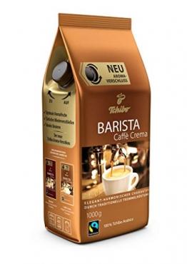 Tchibo Barista Caffè Crema 1Kg ganze Bohne - Kaffee-Genuss für Vollautomaten, Siebträger - 1