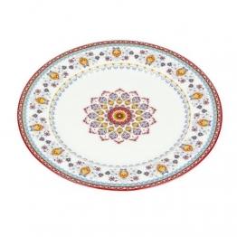 Teller Marrakesh Rosette white 26,5cm, 26,5x26,5x2,5cm