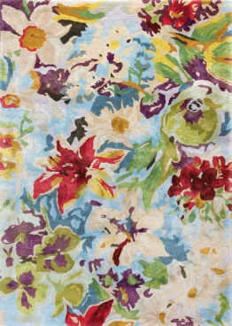 Teppich ´Magic Flower´ (eckig, 140 x 200 cm), Teppich