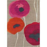 Teppich 'Poppies' (mittelgroß, 200 x 140 cm), Teppich