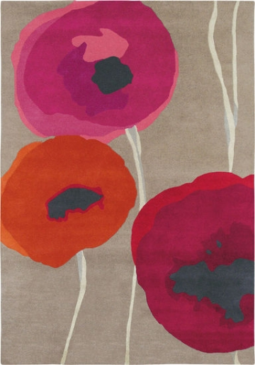 Teppich ´Poppies´ (mittelgroß, 200 x 140 cm), Teppich