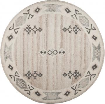 Teppich »Royal Berber«, rund, Ø 150cm, strapazierfähig, THEKO®