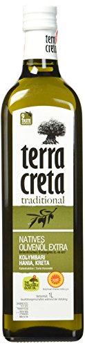 Terra Creta Kolymvari Olivenöl extra nativ aus Kreta 1-Liter - 1