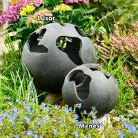 Terracotta-Dekokugel Menes, 22 cm