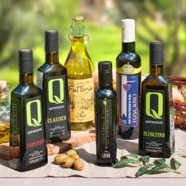 Testsieger 2017 - Sextett Italienische Olivenöle
