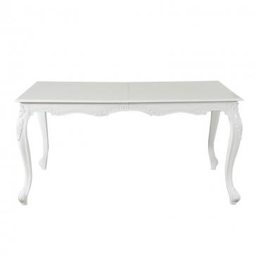 Tisch 160/210x110x80cm, white, 160 × 210 × 110 × 80 cm