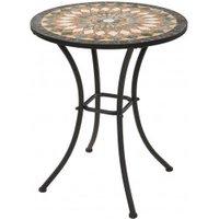 Tisch Mosaik farbig