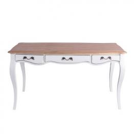 Tisch Rostalie 150x74x80 white, 150 × 74 × 80