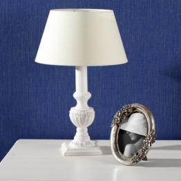 Tischlampe Adriana white 47cm, 47cm