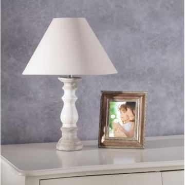 Tischlampe Gajda white&grey 60 cm, 60cm
