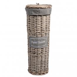 Toilettenpapierhalter aus Weide, gewei�t