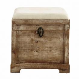 Truhenbank CASCABELLE aus Holz, B39