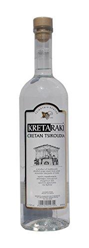 Tsikoudia Kretaraki 700ml 40% Vol. Kreta Raki Griechenland Tresterbrand Brandwein Creta - 1