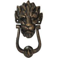 Türklopfer Löwe Downing Street Gusseisen Bronze Löwenkopf Nostalgie Antik Stil