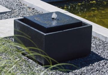 Ubbink AcquaArte Sonora Gartenbrunnen Set LED Springbrunnen