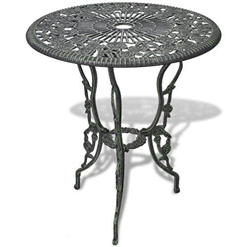 Vidaxl 3tlg Bistro Set Tisch 2 Stühle Essgruppe Sitzgruppe