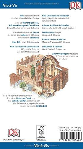Vis-à-Vis Reiseführer Griechenland, Athen & Festland: mit Extrakarte und Mini-Kochbuch zum Herausnehmen - 2