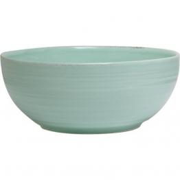 Viva Salatschüssel aus Fayence, 25 cm, grün