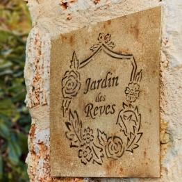 Wandornament Jardin des Reves