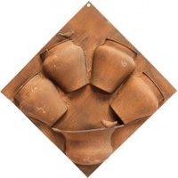 Wandpflanzkasten Romo 50x12x50 cm, Metall