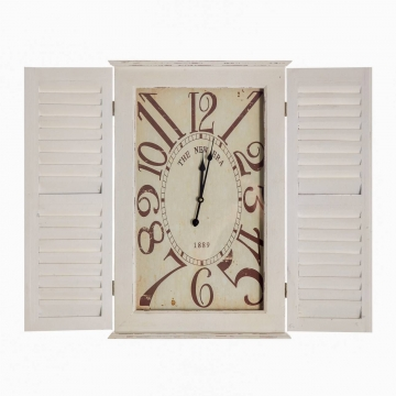 Wanduhr The New Era 87x9x70cm, 70 × 9 × 87 cm