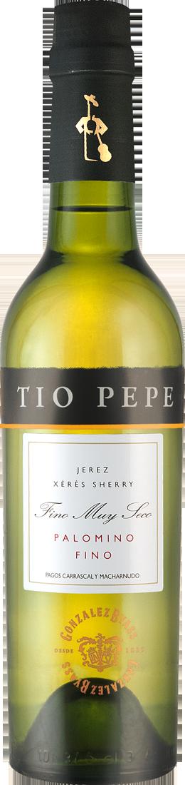 Weißwein González Byass Tío Pepe Sherry Palomino Fino 0,375l 15% vol. Jerez 15,97€ pro l