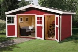 Weka Gartenhaus 261 Gr.1, 28 mm, mit Nebenraum
