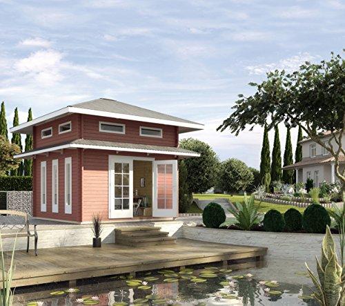 Gartenhaus toskana mit schlafboden shop ambiente mediterran - Badmobel mediterran ...