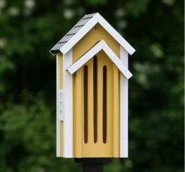 Wildlife Garden SCHMETTERLINGSKASTEN Schmetterlingshotel gelb Holz