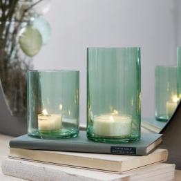 Windlicht 2er Set Turquoise