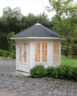 Wolff Finnhaus Gartenhaus Milano 3.0 schwarz